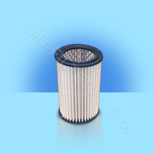 Polyesterové skládané filtry