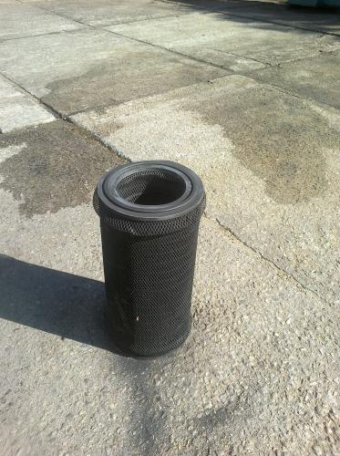 Použitý filtr cyklonu pískování