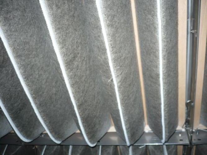 prášková lakovna filtrační vložky vychlazovací kabina