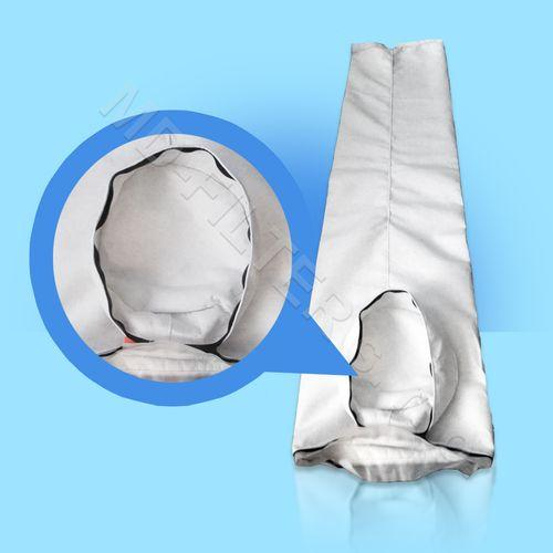 Filtrační pytel - odklápěcí dno se zipem